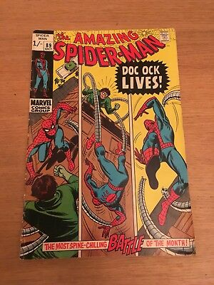 THE AMAZING SPIDER-MAN #89 - Doctor Octopus