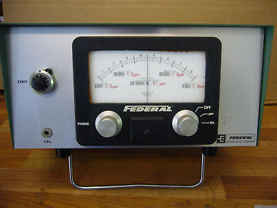 'Esterline / Federal' 432 GAUGING INDICATOR / METER (Untested)   (3515)