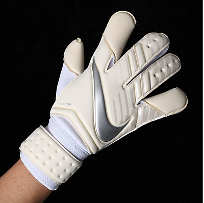 "Nike Gk Vapor Grip 3 Goalkeeping Gloves ""Chrome"" (Gs0347 100) Size 7"