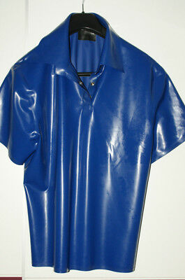 Latex Rubber Latex Simon O. Latex Polo-Shirt