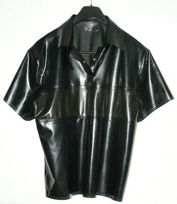 Latex Rubber Latex Herren Polo-Shirt von Simon O.