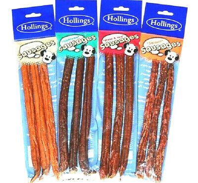 Chicken Large Dried Sausages 300g 600g 1kg 1.5kg Dog Treats Natural Chew