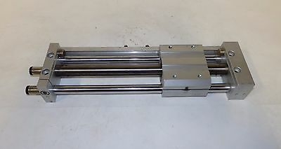 "SMC Rodless Slider Guided Cylinder, NCDY2S15H-0675, 15MM Bore, 6.75"" Stroke?, L6"