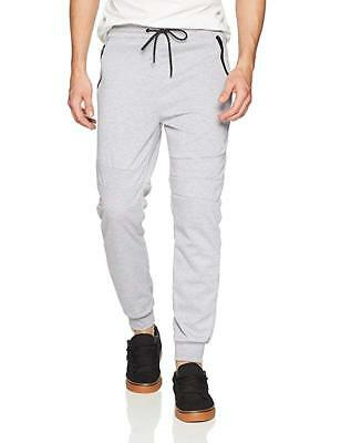 THEORY BARRIER FLEECE GRAY MEDIUM 32-34 RELAXED SWEAT SWEATPANT JOGGER JOG PANTS