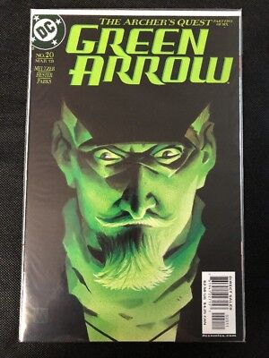 Green Arrow #20 March 2003 DC Comics The Archer's Quest Part 5 of 6 VF-NM