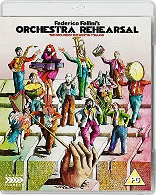 Orchestra Rehearsal - Special Edition (Blu-ray, 1978, REGION B - READ) *NEW*