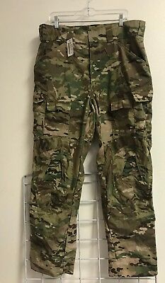 New US Army OCP MULTICAM Combat PANTS LARGE REGULAR New With Tags