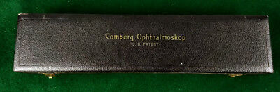 grosses Comberg Ophthalmoskop um 1930 D.R. Patent