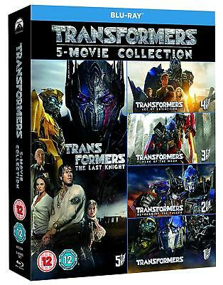 Transformers - Complete Collection [Movies 1-5] (Blu-ray, 6 Discs, Region Free)