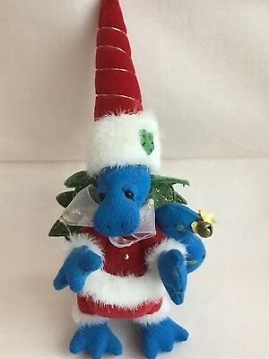 Deb Canham Dringle Christmas Dabbled Dragon