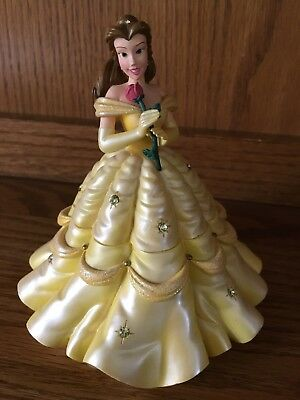 DISNEY Belle Trinket Box Beauty and the Beast Disney Parks Jewelry