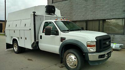 2008 Ford F-550 CROME WHEELS Ford F-550 Utility Truck