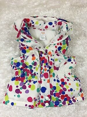 GYMBOREE COLOR HAPPY LIME GREEN PUFFER VEST 4 5 6 7 8 NWT