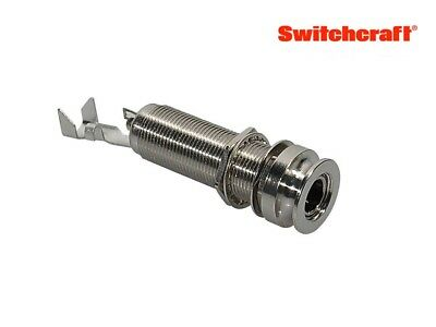 Switchcraft Endpin Acoustic Jack, Stereo 3-Pole