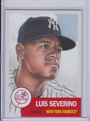 2018 Topps Living Set #115 Luis Severino New York Yankees