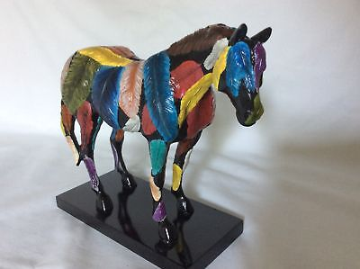 "TRAIL OF PAINTED PONIES, ""HORSEFEATHERS"", #12206e"