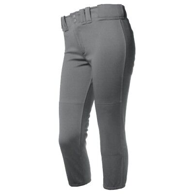 Rip-It Classic Fastpitch Softball Pant Youth - Charcoal - XL