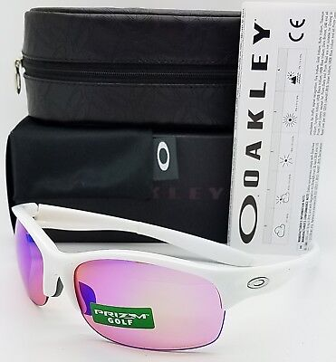 af6223584cc NEW Oakley Commit SQ sunglasses White Prizm Golf 9086-0262 AUTHENTIC G30  Womens
