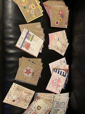 Papersalad Job Lot Mixed Greetings Cards 56 Cards