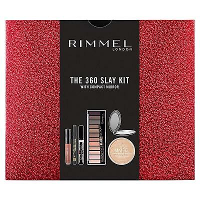 Rimmel The 360 Slay Kit Gift Set Stay Matte Powder, Liquid FAST DELIVERY Makeup
