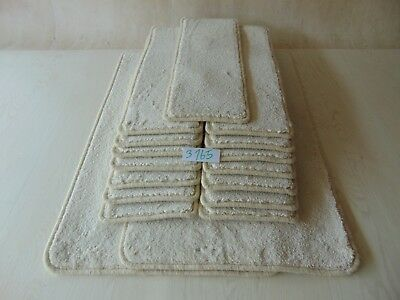 15 Open Plan Stair Treads / Pads / Mats size 60cm x 22cm and 2 BigMats #3165-3