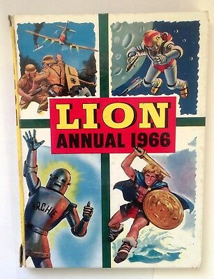 Lion Annual 1966 - Fleetway Publications Limited - Laminated Hardback