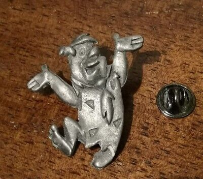 Hanna Barbera Fred Flintstones Pewter Lapel Pin