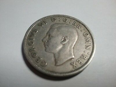 1950 Two Shillings Coin Great Britain Circulated