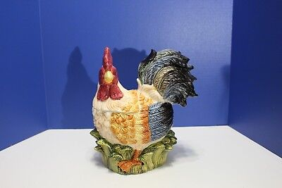 Rooster Shaped Cookie Jar from Jay Import