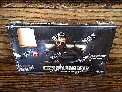 1 Cryptozoic Walking Dead Season 3 Part 2 FACTORY SEALED Trading Card HOBBY Box