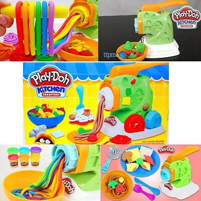 PLAY-DOH Kitchen Creations Noodle Makin Pasta Mania Mold Plasticine Modelling