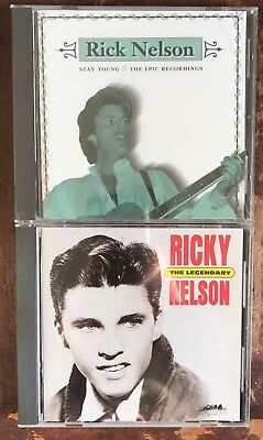 The Legendary Ricky Nelson & The Epic Years/2 CDs Garden Party It's Late/Eagles