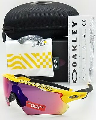 5152da622f NEW Oakley Radar EV Path sunglasses Yellow Tour de France Prizm Road  9208-6938