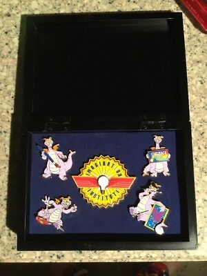 WDW Search For Imagination Pin Event Figments of Illumination LE 500 Boxed Set