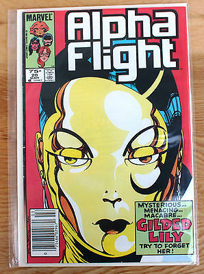 Alpha Flight #20 (Mar 1985, Marvel)