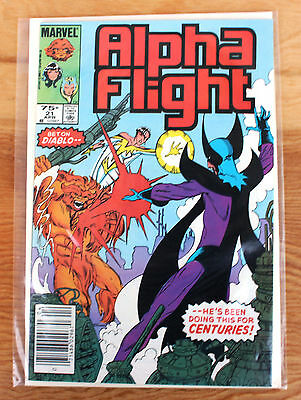 Alpha Flight #21 (Apr 1985, Marvel)
