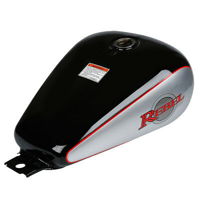 Motorcycle Fuel Gas Tank 3.4 gallons Fit Honda CMX250 CMX 250 Rebel 1985-2014 13