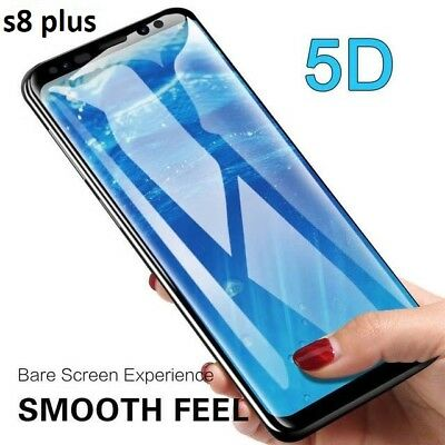 5D Case Friendly Tempered Glass Screen Protector For Samsung Galaxy S8 PLUS uk