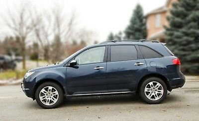 Acura: MDX ACURA 2009 MDX BLUE 3.7L FULL PACKAGE, WINTER TIRE, 141000 KM, KING CITY, ON