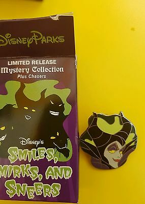 Smiles, Smirks and Sneers Mystery Collection - Maleficent ONLY Disney Pin