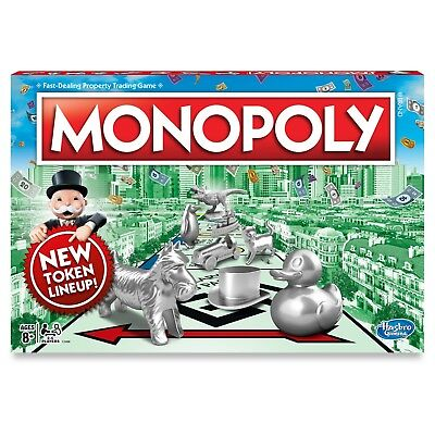 Monopoly Board Game The Classic Edition Traditional Family Fun NEW IN BOX