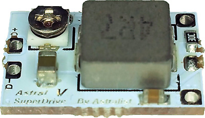 Astral Superdrive V - 5A Réglable Buck / Courant Constant Driver W/ 1 Khz Pwm