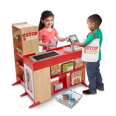 Melissa and Doug One Stop Shop Grocery Fresh Mart