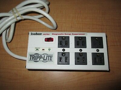Tripp Lite Isobar 6 Outlet Surge Protector Power Strip, 6ft Cord - Fast Shipping