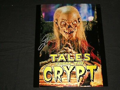 JOHN KASSIR Signed Cryptkeeper 8x10 Photo Tales of the Crypt Autograph C