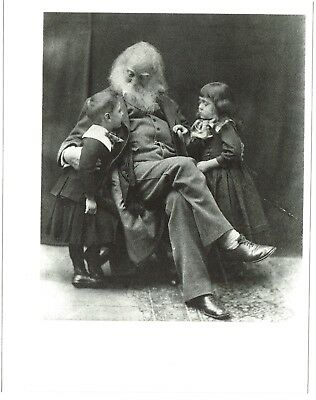 WALT WHITMAN -  Photo Post Card -  New, unused, Out of Print