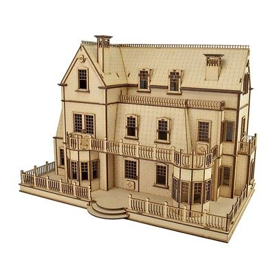 Amberlee Villa Doll House with Furniture