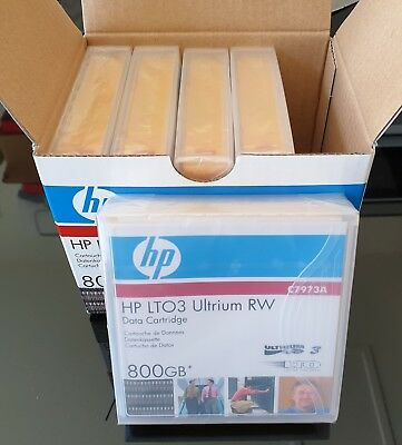 HP LTO3 Ultrium 800Gb RW Data Cartridge(P/N: C7973A, Brand New, Sealed, 5 Pack)