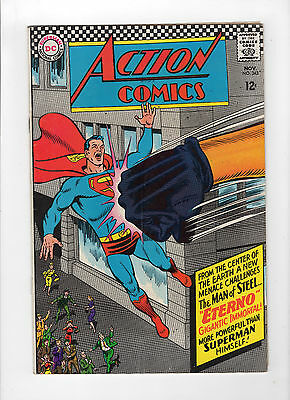 Action Comics #343 (Nov 1966, DC) - Very Good/Fine