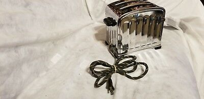 Vintage Antique Speed O Matic Toaster Catalin Handles Series 612 Usa- Works